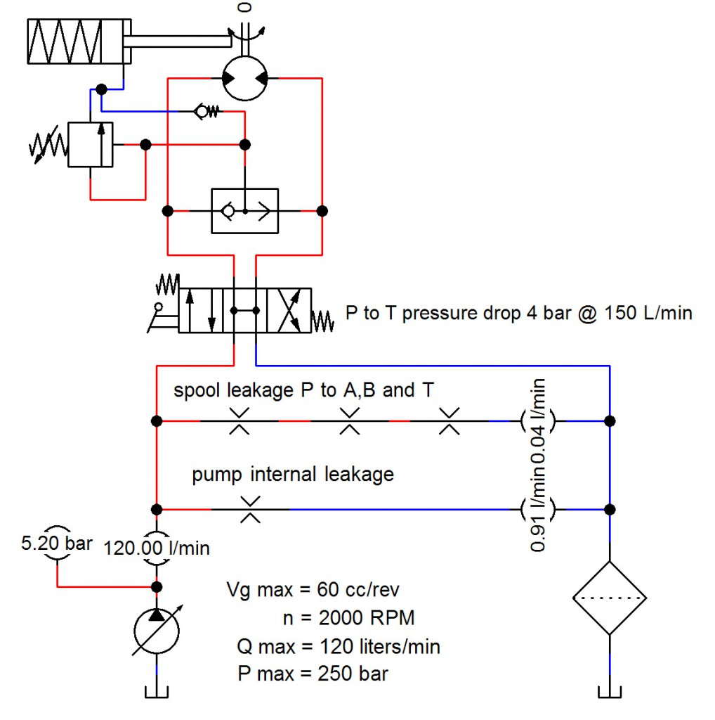 Exhibit 3. Computer simulation of analytical circuit - open center.