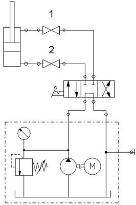 hydraulic troubleshooting test rh hydraulicsupermarket com  simple hydraulic schematic diagram